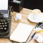 Empty notebook — Stock Photo #60711651