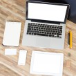 Modern working place — Stock Photo #60744181