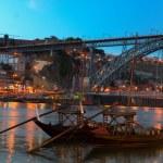 Night scene of Porto, Portugal — Stock Photo #65313935