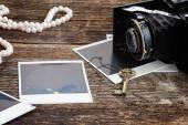 老式照片相机 — 图库照片
