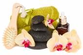 Orchid spa treatment — Stock Photo