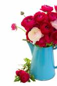 Blumenstrauß rosa hahnenfuß — Stockfoto