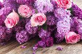 Lila çiçek — Stok fotoğraf