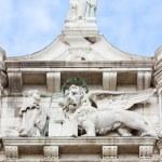 Lion symbol of Venice — Stock Photo #73480405