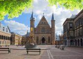 Binnenhof - Dutch Parliament, Holland — Stock Photo