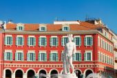 Old town of Nice, France — Stock Photo