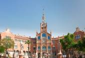 Hospital Sant Pau, Barcelona, Spain — Stock Photo