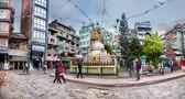 Stupa in Kathmandu — Stock Photo