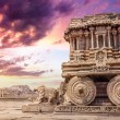Stone chariot in Hampi — Stock Photo #54345091
