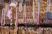 Indian jewelry shop  — 图库照片