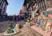 Market in Bhaktapur — Stock Photo
