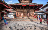 Durbar square in Kathmandu — Stock Photo