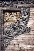 Nepali carvings — Стоковое фото