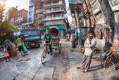 Kathmandu street — Stock Photo