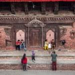 Durbar square in Kathmandu — Stock Photo #62763787