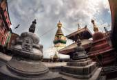 Swayambhunath stupa — Stock Photo