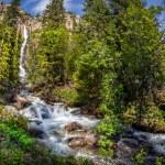 Mountain waterfall  — Stock Photo #63795177