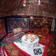 Kazakh yurt interior — Photo #68703089
