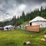 Urta nomadic house — Stock Photo #70828659