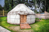 Urta nomadic house — Stock Photo