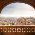 Jaisalmer fort and City view — Stock Photo #71708981