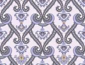 Damascus pattern in gray purple tones  — Vector de stock