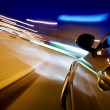 Car in motion at night — Stock Photo #52091879