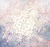 クリスマス雪背景 — ストック写真