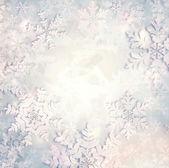 Christmas Snowflakes Background — Stock Photo