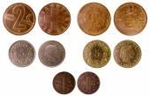 不同的瑞士古币 — 图库照片