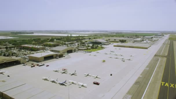 Aerial view of Californian Airport