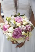 Picture of wedding bouquet — Stock Photo