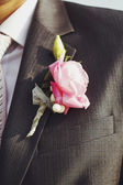 Picture of beautiful boutonniere — Stock Photo