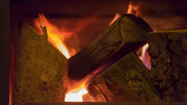 Fireplace interior — Vidéo