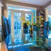 Interior design of dining room — Stock Photo