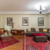 Oturma odası iç tasarım — Stok fotoğraf