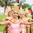Thai dancers dancing — Stock Photo #60364905