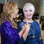 ������, ������: Singer Anita Tsoi and Katya Lel
