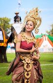 Thai dancer dancing — Stock Photo