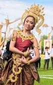 Thai dancers dancing — Fotografia Stock