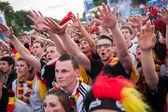 Alman futbol taraftarları Euro 2012 — Stok fotoğraf
