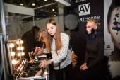 International exhibition of professional cosmetics — Stockfoto