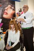 International exhibition of professional cosmetics — Stock Photo