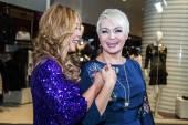 Singer Anita Tsoi and Katya Lel — Stock Photo