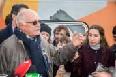 Director Nikita Mikhalkov — Stock Photo