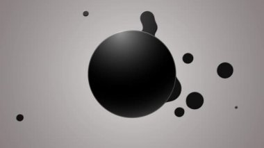 Liquid button — Stock Video