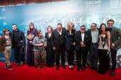 Premiere of the movie Leviathan at Moscow Cinema, January, 28, 2015 in Moscow, Russia — Stock Photo