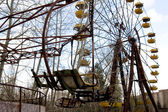 Ferris wheel in Pripyat ghost town, Chernobyl Nuclear Power Plan — Photo