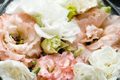 Beautiful flowers background for wedding cards — Stock Photo