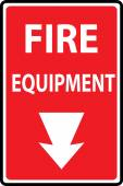 Fire equipment signs  — Vetorial Stock